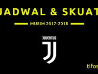 Jadwal dan Skuat Juventus Musim 2017-2018