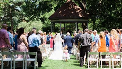 Lafayette Park St Louis Ceremony