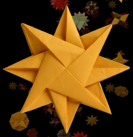 3D Paper Star Kirigami - Red Ted Art - Make crafting with kids ...   280x272
