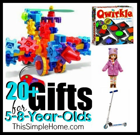 This Simple Home: Gift Ideas for 5-8 year olds