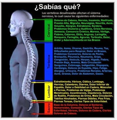El dolor intolerable agudo en la espalda