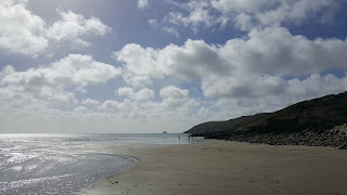 Portholland Beach Cornwall