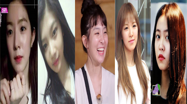 Red Velvet Without Makeup