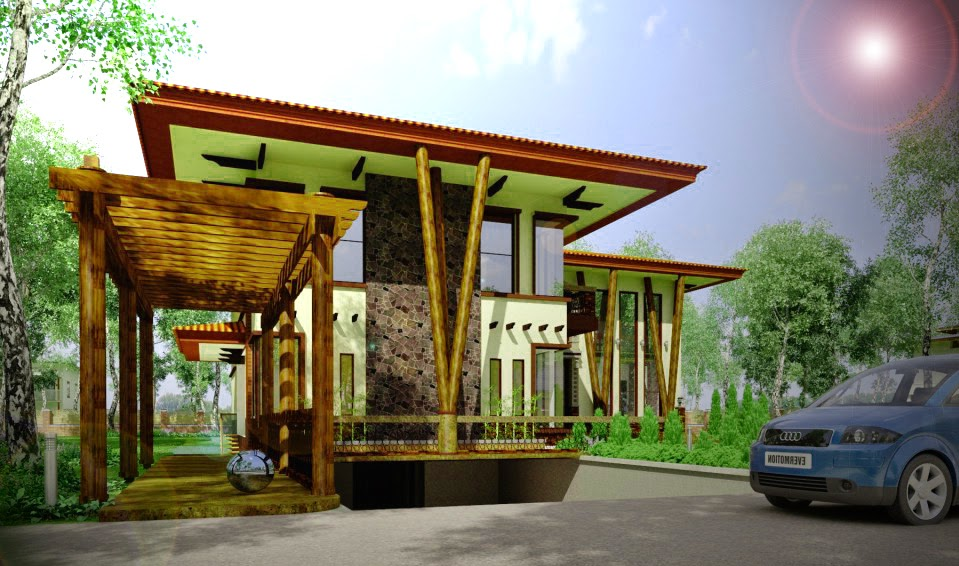 Desain Rumah Kayu Minimalis 1 Lantai Marte Designs Rumah Minimalis