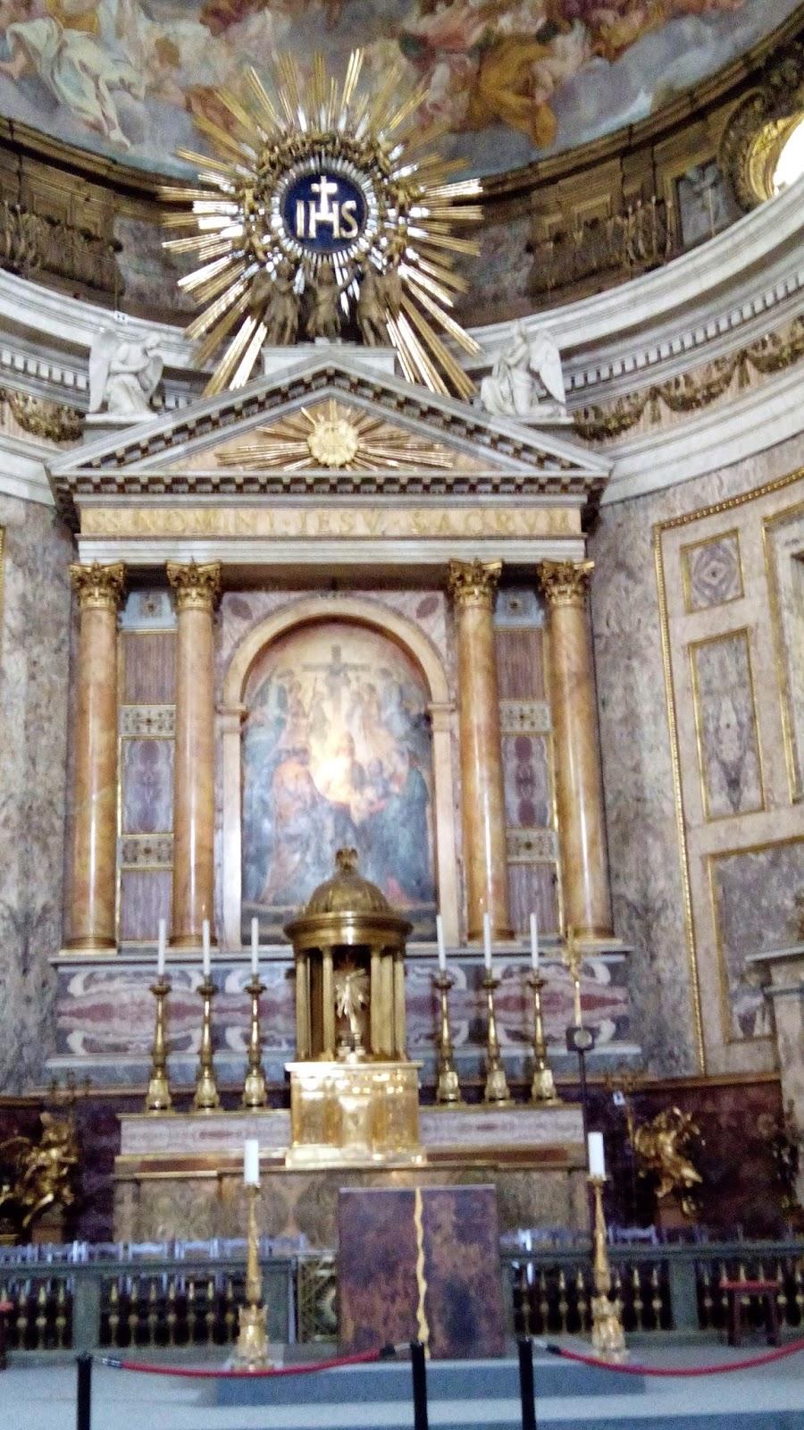 guiaderoma chiesa del gesu 11 - Igreja de Jesus
