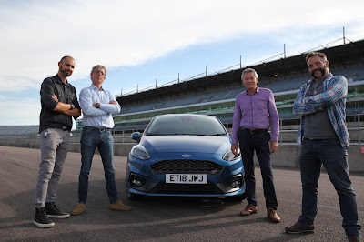 Jonny Smith, Tiff Needell, Jason Plato e Jimmy De Ville - Divulgação