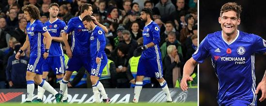 Chelsea show title credentials as they sensationally whitewash Everton 5-0 (Match analysis/photos)