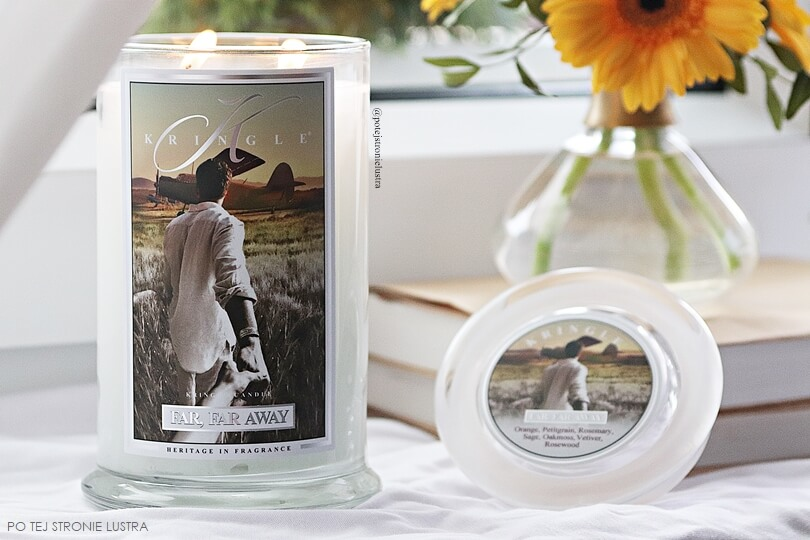 kringle candle far, far away blog recenzja