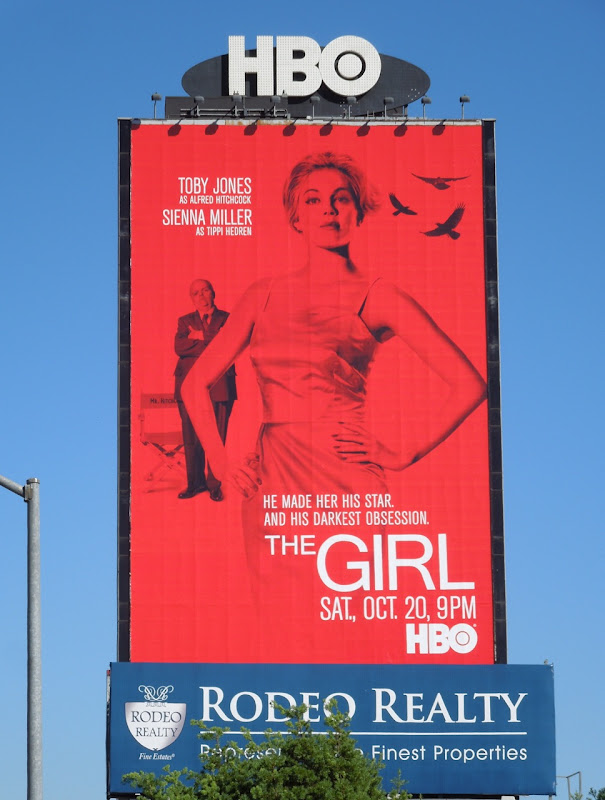 Sienna Miller Girl HBO billboard