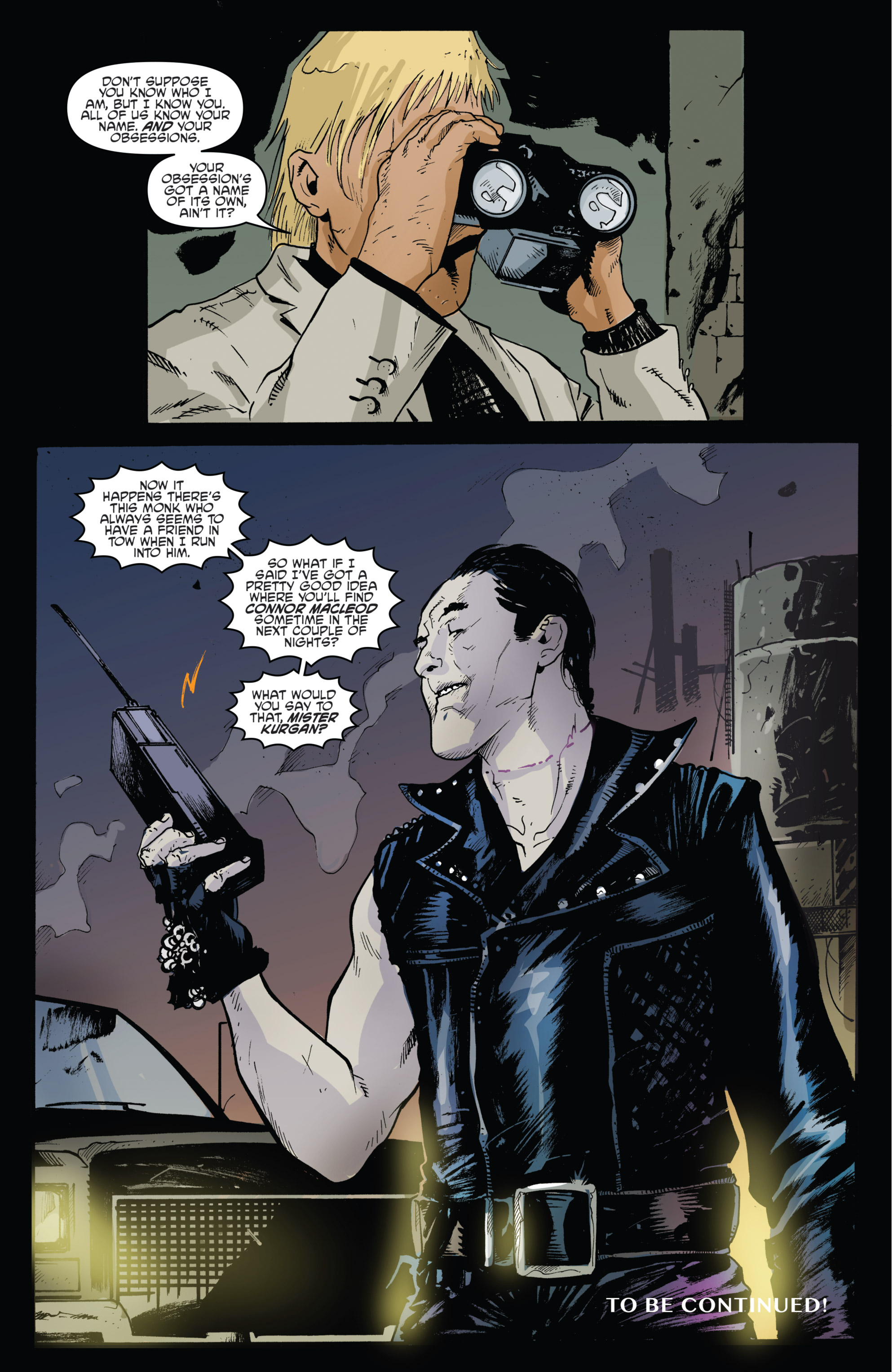Read online Highlander: The American Dream comic -  Issue #4 - 22