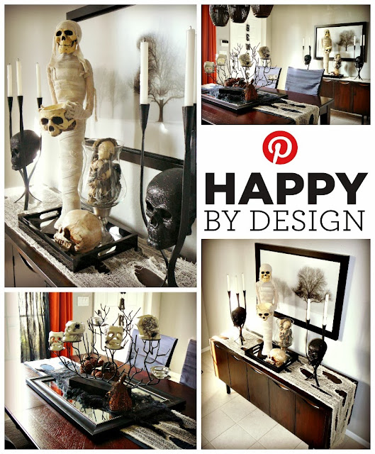 FOCAL POINT STYLING: SIMPLE HALLOWEEN VIGNETTE