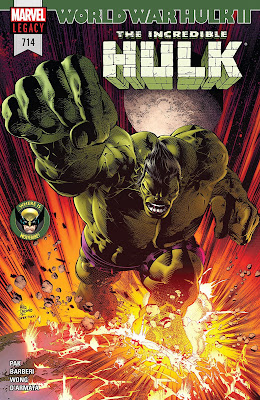 The Incredible Hulk #714 cover by Mike Deodato