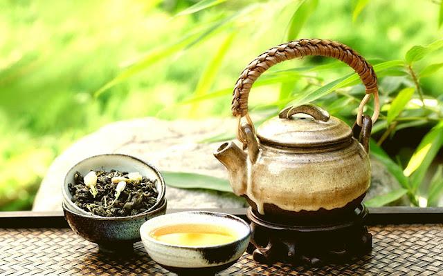 Receita : Chá de gengibre com chá verde e limão como fazer em casa , novidades online brasil saúde