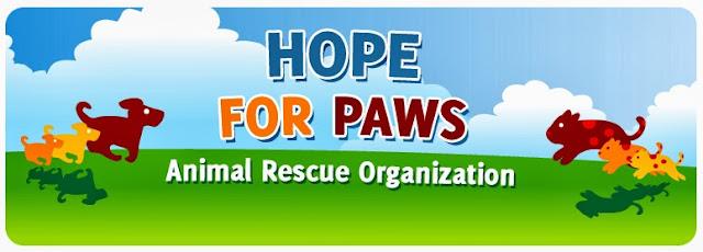 Hope For Paws : Organização de Resgate de Animais