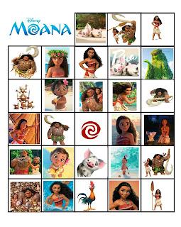 Moana activities