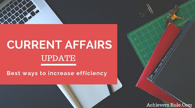 Current Affairs Updates - 8th April 2018