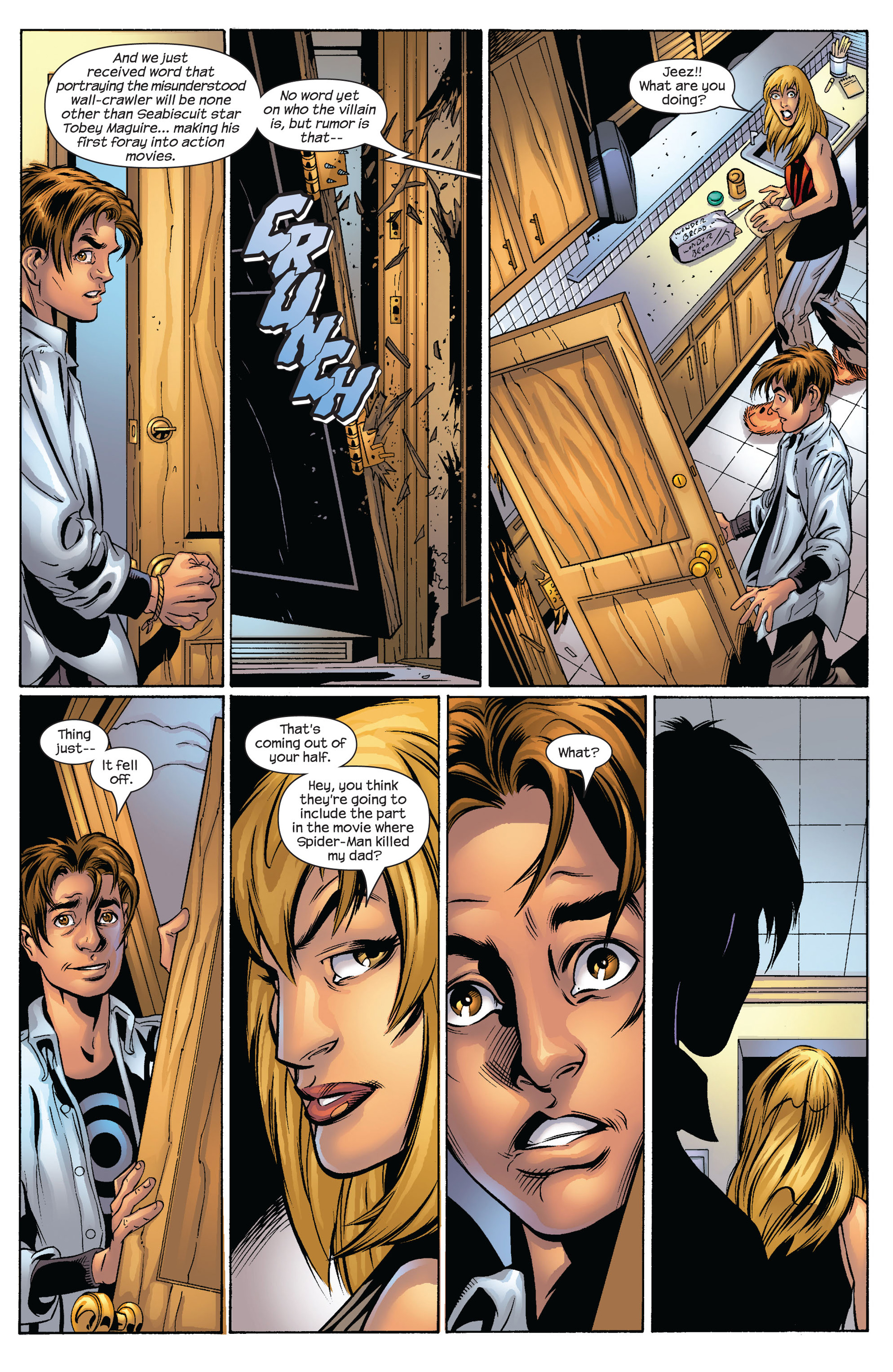 Read online Ultimate Spider-Man (2000) comic -  Issue #54 - 8