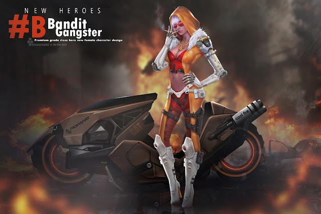 Bandit Gangster - Ares Art