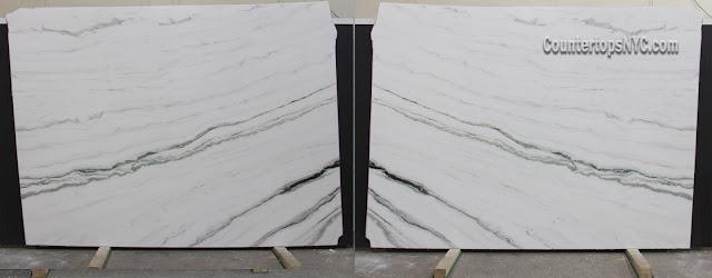 Zebra White 2cm Marble Slab NYC