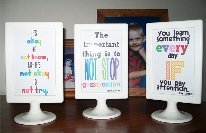 Down Under Teacher Theyre Done Ikea Frames With Quotes