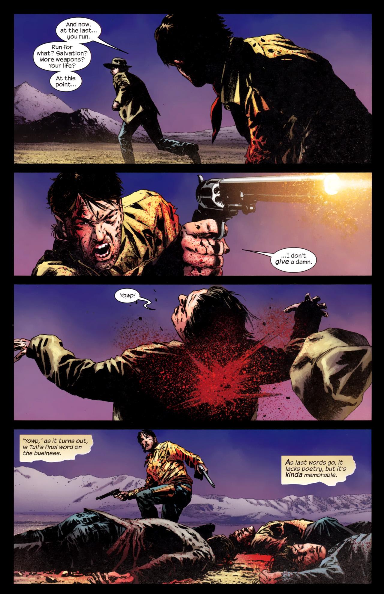 Read online Dark Tower: The Gunslinger - The Battle of Tull comic -  Issue #5 - 17