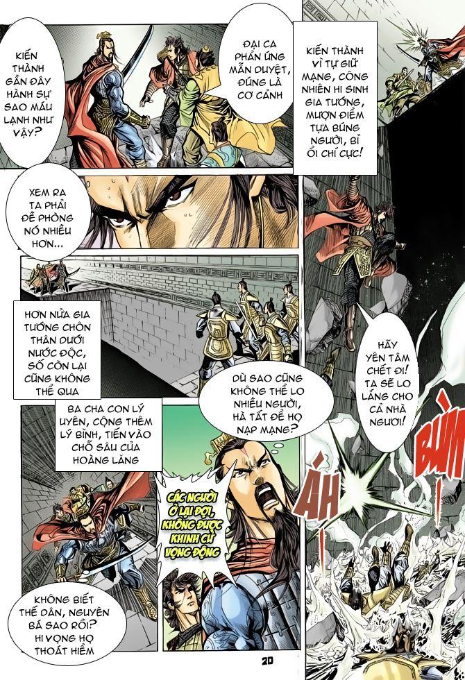 Đại Đường Uy Long chapter 50 trang 20