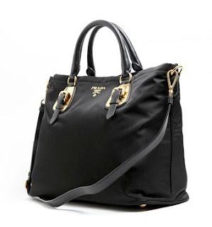 cc6560a0306f Prada BN1902 Tessuto Soft Calf OUR PRICE LOWER THAN RETAIL 40% MODEL: BN  1902. COLOUR: Black MATERIAL: Tessuto Nylon & Leather (Calf)