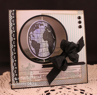 Stamps - Our Daily Bread Designs The Earth, ODBD Custom Circle Ornaments Die