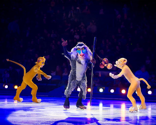 Disney on Ice presents Passport to Adventure at Manchester Arena - Review Lion King Simba Nala Rafiki