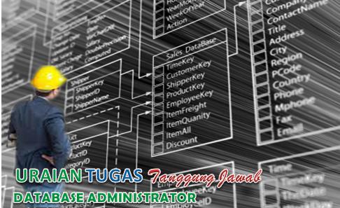Uraian Tugas Database Administrator