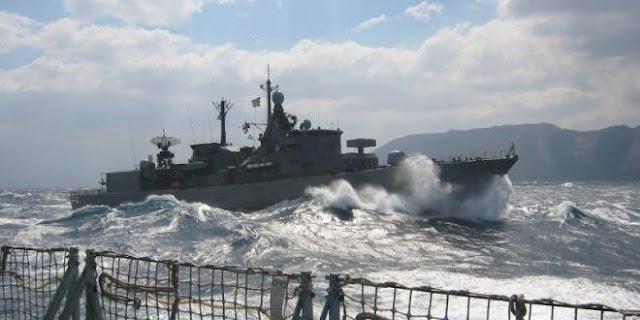 Ο τουρκικός στόλος βγήκε στο Αιγαίο