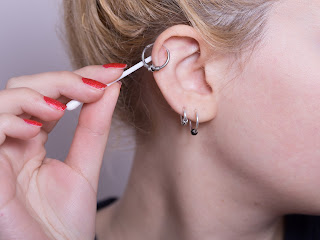 Helix piercing - Double helix, Forward Helix, Triple Helix, Triple Forward Helix