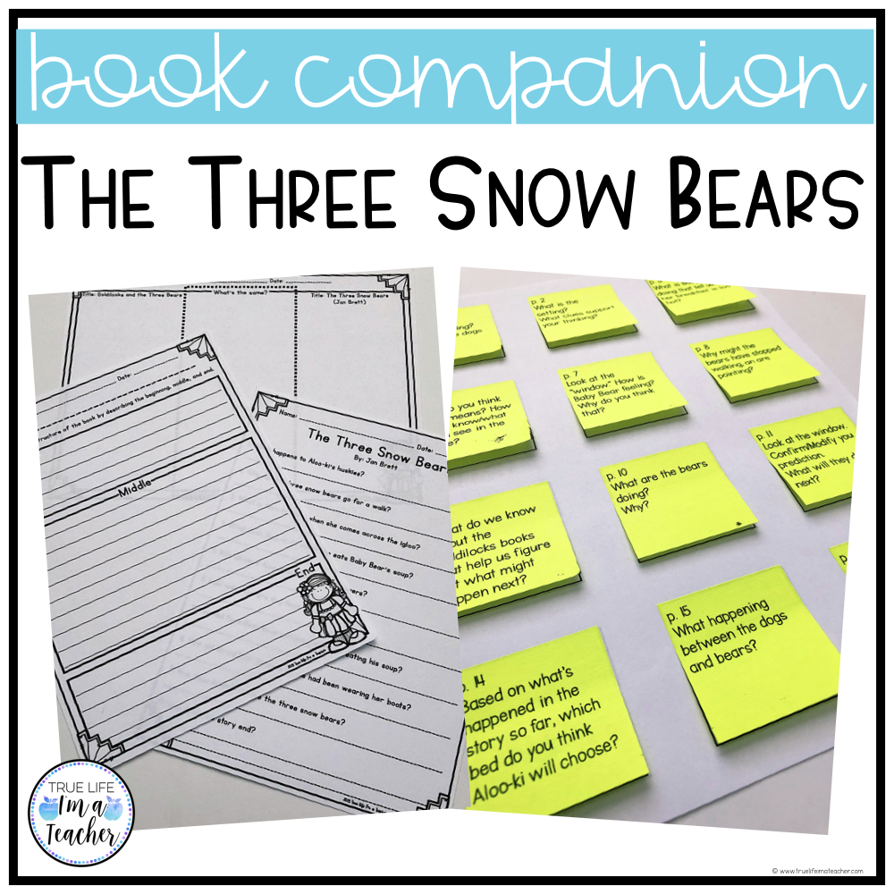 List of Goldilocks and the Three Bears books to compare and contrast, plus free printables!