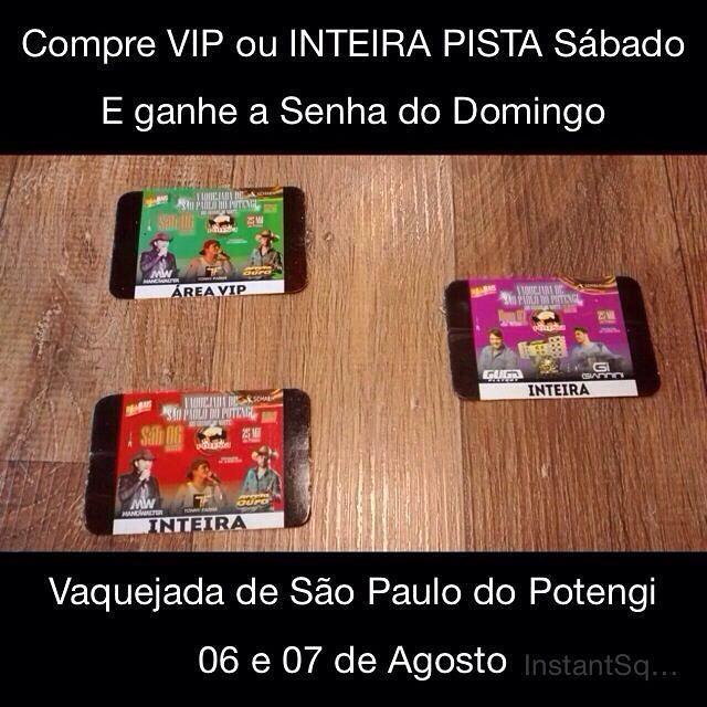 Iniciada as vendas das senhas para festa da 35° vaquejada de São Paulo do Potengi/RN