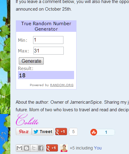 JamericanSpice: Linnea in Monet's Garden + #Giveaway