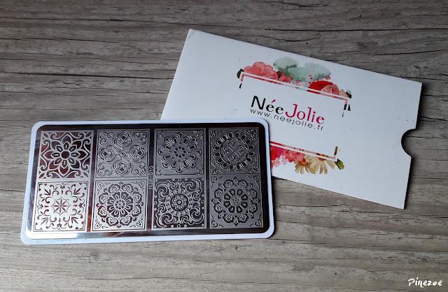 stamping Née Jolie NJX10