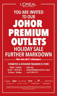 Cosmeticss & Designer Fragrances Holiday Sale Further Markdown 2016