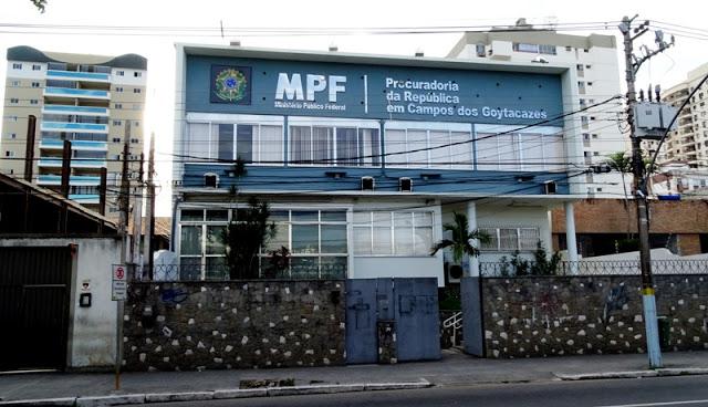 Resultado de imagem para MPF CAMPOS DOS GOYTACAZES