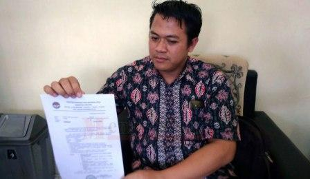 Ketua Panwaskab Lumajang Akhmad Mujaddid