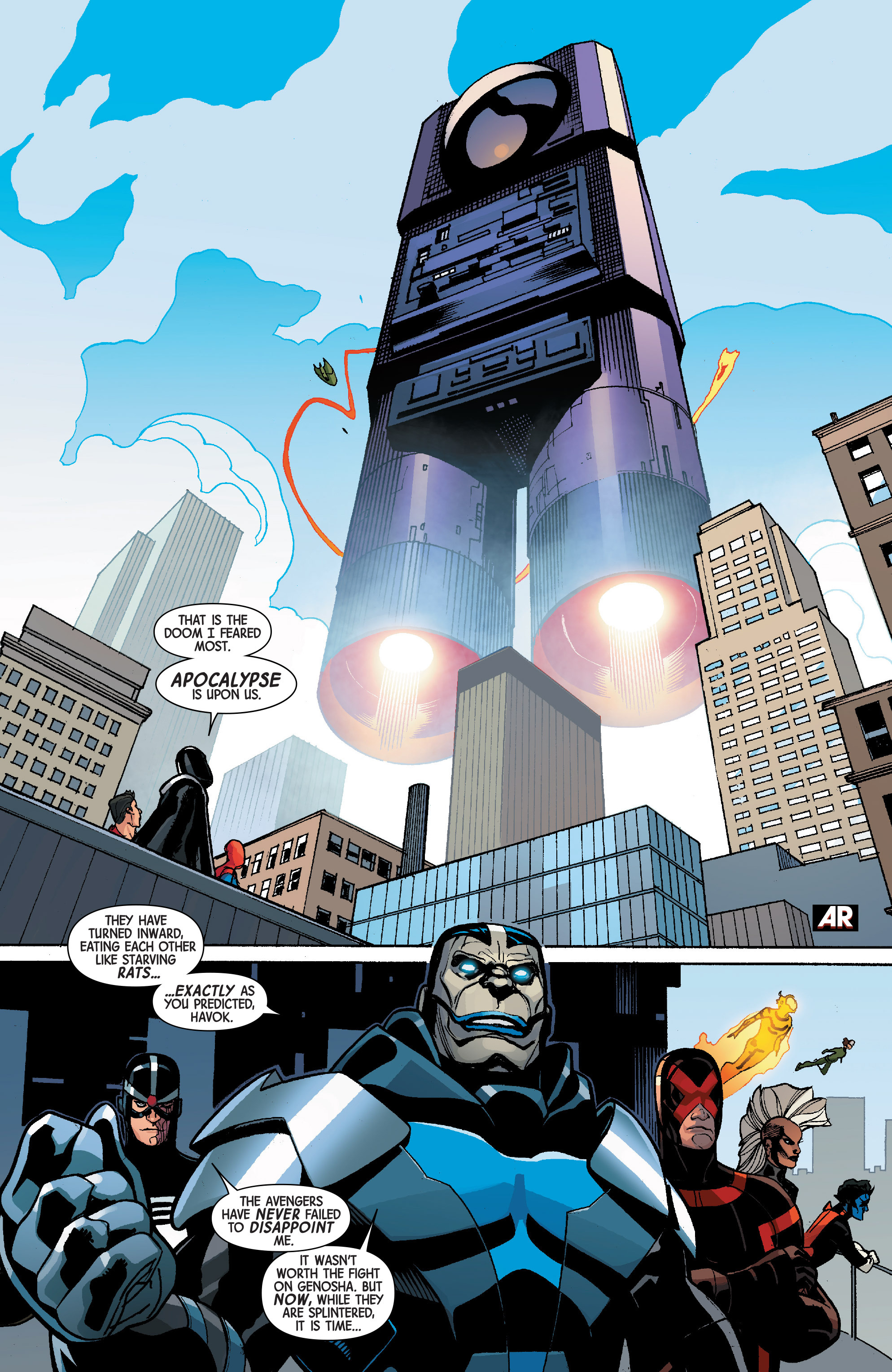 Read online Avengers & X-Men: AXIS comic -  Issue #5 - 17