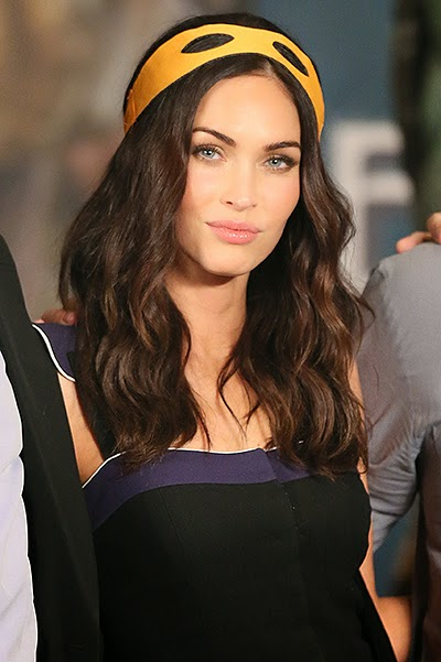 "Megan Fox presented the tape ""Teenage Mutant Ninja Turtles"" in Beijing"