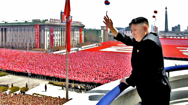Image Attribute: North Korean leader Kim Jong-un at Parade / Source: The History of North Korea, Youtube screengrab