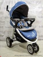 Kereta Bayi LightWeight BabyElle S700 - Blue