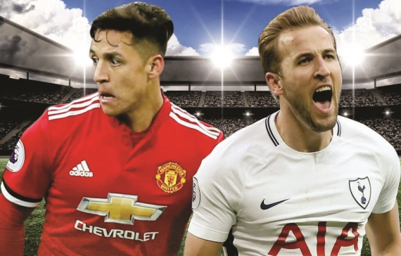 FA Cup Semi-finals between Man United and Spurs