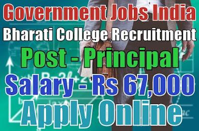 Bharati College Recruitment 2017