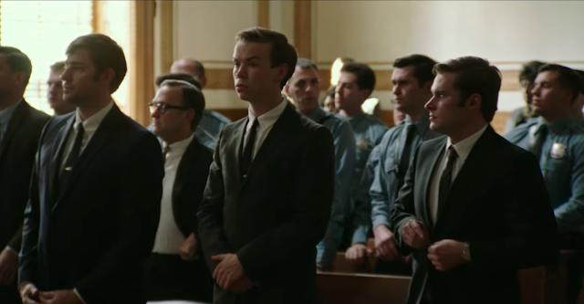 Will Poulter (au centre) dans Detroit, réalisé par Kathryn Bigelow (2017)
