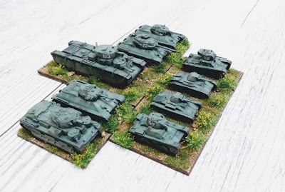 Painted WWII Soviet - Vehicles from Pendraken Miniatures
