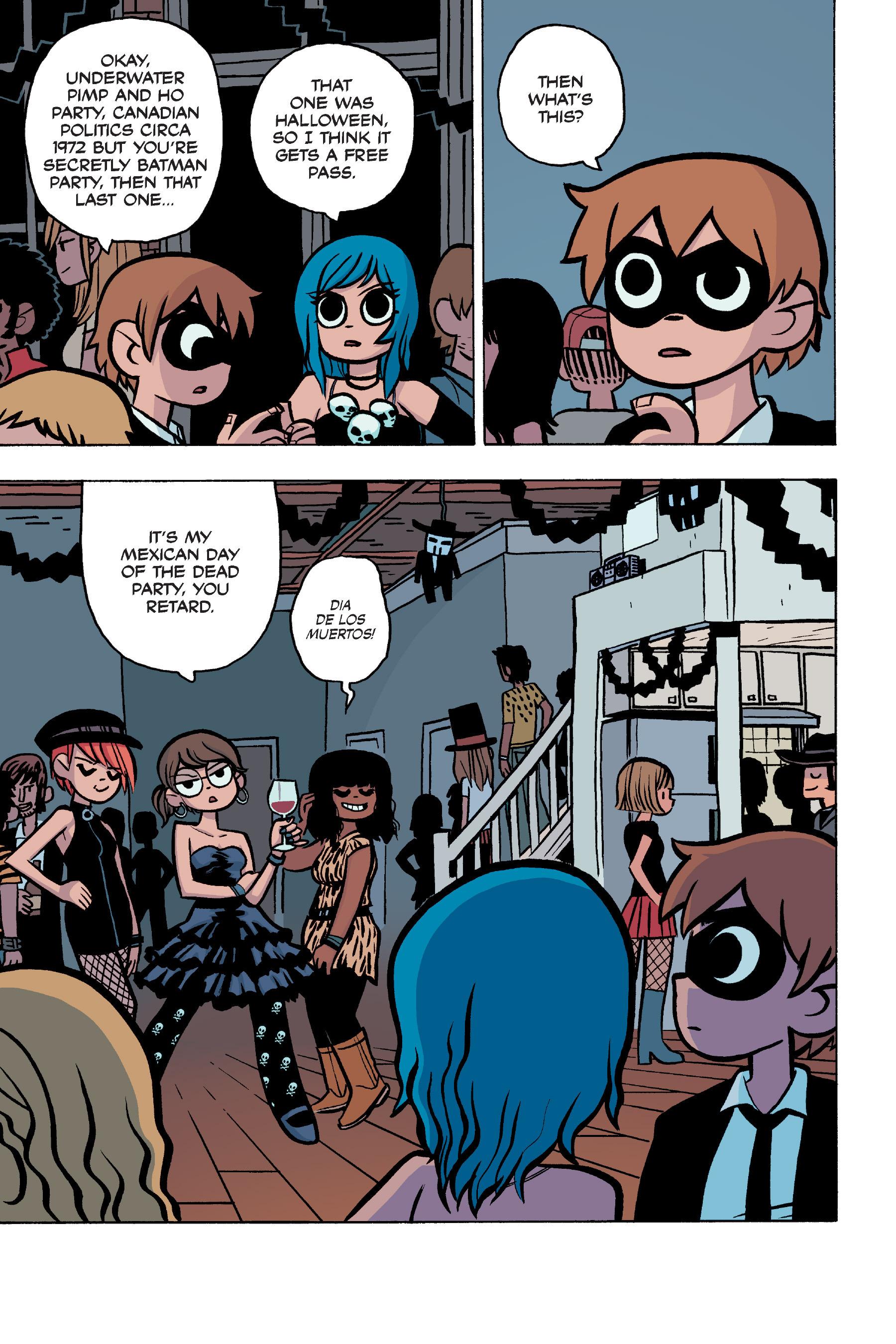 Read online Scott Pilgrim comic -  Issue #5 - 9