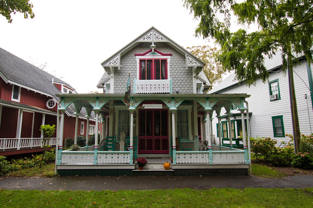 Case in legno al Trinity park-Oak Bluffs-Martha's Vineyard