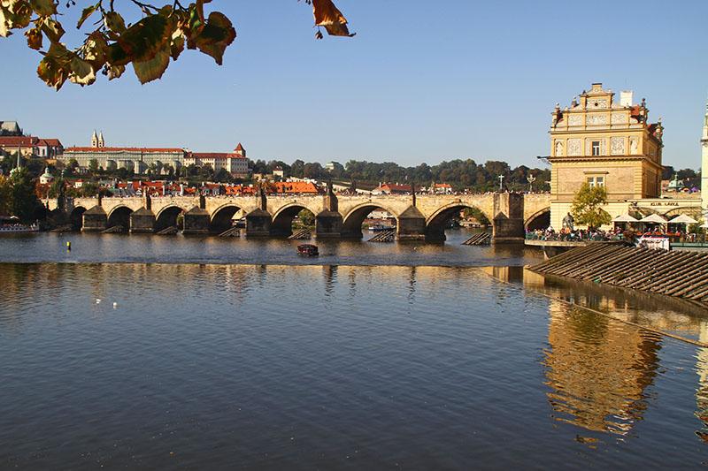 Prancing in Prague